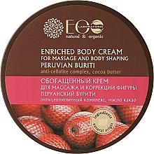 Perfumería y cosmética Crema para masaje y modelado corporal con manteca de cacao - ECO Laboratorie Natural & Organic