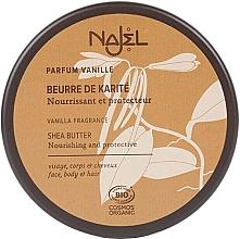 Perfumería y cosmética Manteca de karité con aroma a vainilla para rostro, cuerpo y cabello - Najel