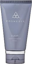 Perfumería y cosmética Mascarilla de limpieza facial con azufre y aceite de árbol de té - Cosmedix Clear Deep Cleansing Mask