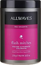 Perfumería y cosmética Polvo aclarante y colorante para cabello - Allwaves Flash Maches Bleaching Colouring Powder