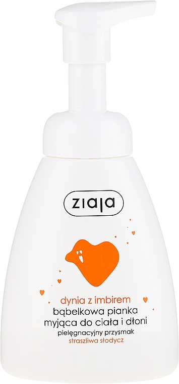 Espuma limpiadora para manos y cuerpo con calabaza & jengibre - Ziaja