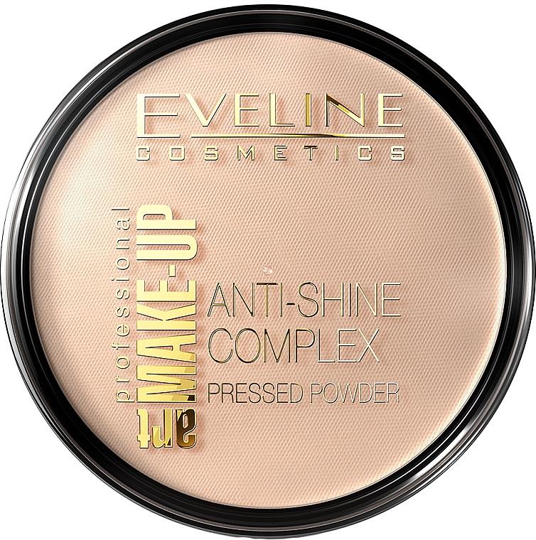 Polvo facial compacto matificante - Eveline Cosmetics Anti-Shine Complex