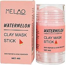 Perfumería y cosmética Mascarilla stick facial antiacné con arcilla y extracto de sandía - Melao Watermelon Clay Mask Stick