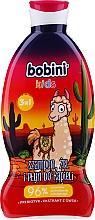 Perfumería y cosmética Gel de ducha, champú y espuma de baño infantil 3en1 con extracto de avena, Lama - Bobini