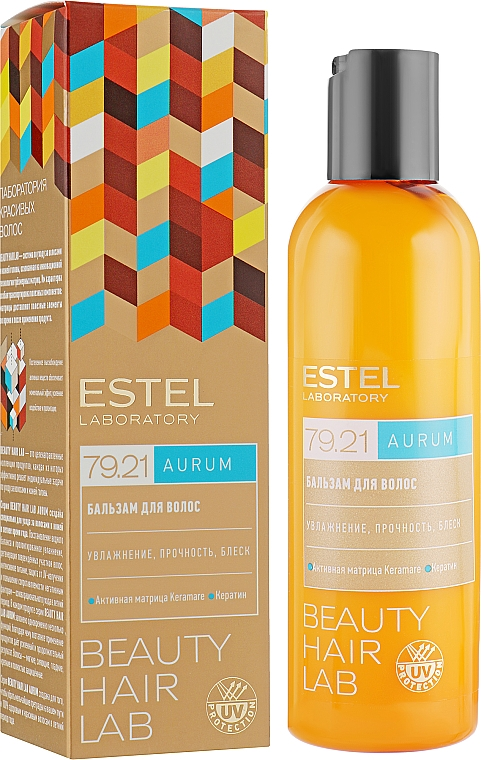 Acondicionador hidratante con queratina - Estel Beauty Hair Lab 79.21 Aurum