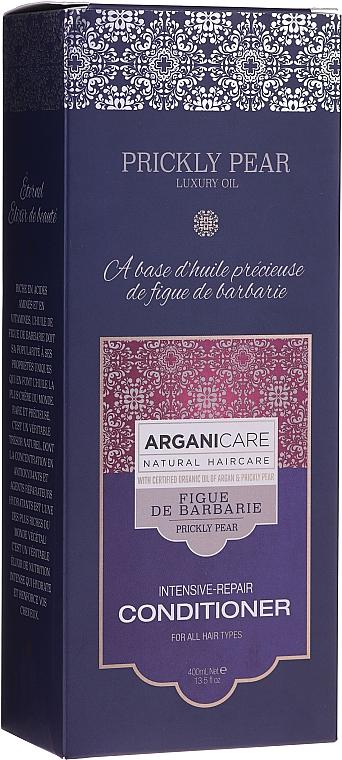 Acondicionador para cabello con aceite de nopal y argán - Arganicare Prickly Pear Intensive-Repair Conditioner