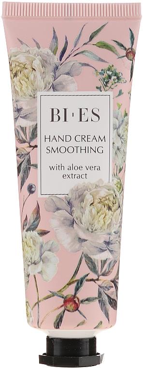 Crema de manos suavizante con extracto de aloe vera - Bi-es Smoothing Hand Cream With Aloe Vera Extract
