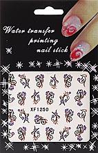 Perfumería y cosmética Pegatinas decorativas para uñas - Silcare