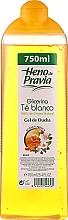 Perfumería y cosmética Gel de ducha con glicerina y té blanco - Heno De Pravia Glycerina Shower Gel