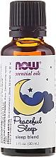 Perfumería y cosmética Aceite esencial de naranja, lavanda y sándalo - Now Foods Essential Oils Peaceful Sleep Oil Blend