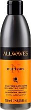 Perfumería y cosmética Champú para cabello dañado - Allwaves Nutri Care Regenerating Shampoo