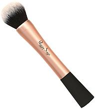 Perfumería y cosmética Brocha redonda para maquillaje líquido, 135217 - Peggy Sage Foundation Brush