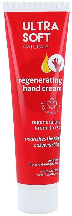 Crema de manos regeneradora con glicerina, pieles seca, sensible y dañada - Tolpa Ultra Soft Naturals Regenerating Hand Cream