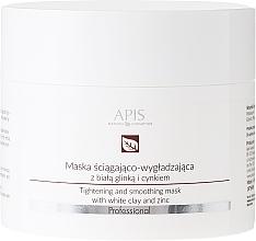 Perfumería y cosmética Mascarilla facial reafirmante con arcilla blanca y zinc - APIS Professional Tightening And Smoothing Mask