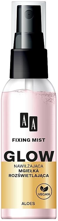 Spray fijador de maquillaje con provitamina B5 y alantoína - AA Fixing Mist Glow