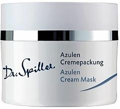 Perfumería y cosmética Mascarilla crema facial con azuleno, alantoína y aceite de aguacate - Dr. Spiller Azulen Cream Mask