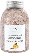Perfumería y cosmética Sales de baño minerales con aroma a naranja y canela - Kanu Nature Orange Cinnamon Mineral Bath Salt