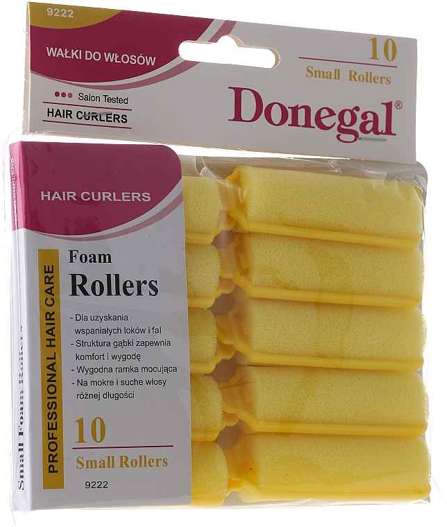 Rulos de espuma, 20mm, 10uds. - Donegal Sponge Curlers