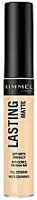 Perfumería y cosmética Corrector facial matificante - Rimmel London Lasting Matte Concealer