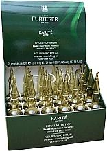 Perfumería y cosmética Aceite nutritivo de cabello en ampollas con extracto de karité - Rene Furterer Karite Nutri Treatment Dry Hair