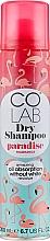 Perfumería y cosmética Champú seco con aroma a flor de tiare y coco - Colab Paradise Dry Shampoo