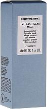 Perfumería y cosmética Mascarilla facial hidratante con ácido hialurónico y aceite de jojoba - Comfort Zone Hydramemory Mask