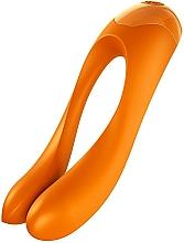 Perfumería y cosmética Vibrador de dedo, naranja - Satisfyer Candy Cane Finger Vibrator Orange