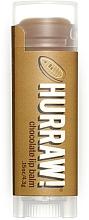 Perfumería y cosmética Bálsamo labial eco con pasta de cacao - Hurraw! Chocolate Lip Balm