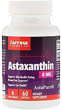 Perfumería y cosmética Complemento alimenticio en cápsulas astaxantina, 4 mg - Jarrow Formulas Astaxanthin 4mg