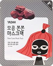 Perfumería y cosmética Mascarilla reductora de poros con carbón vegetal de bambú - Yadah Pore Care Mask Pack