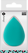 Perfumería y cosmética Esponja de maquillaje sin látex, turquesa - Beauty Look