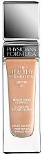 Perfumería y cosmética Base de maquillaje de larga duración, cobertura ligera a media y acabado satinado con ácido hialurónico - Physicians Formula The Healthy Foundation