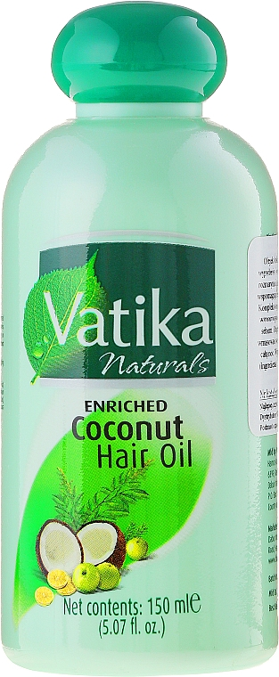 Aceite de coco para cabello - Dabur Vatika Enriched Coconut Hair Oil