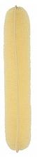 Perfumería y cosmética Esponja de moño, 230 mm - Lussoni Hair Bun Roll Yellow
