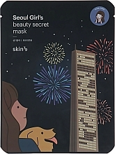 Perfumería y cosmética Mascarilla facial de tejido con extracto de onagra y camelia - Skin79 Seoul Girl's Beauty Secret Mask Vital Care