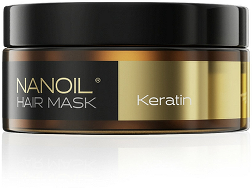 Mascarilla capilar con queratina - Nanoil Keratin Hair Mask