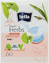 Perfumería y cosmética Compresas Panty Herbs Sensetive Plantago 60 uds. - Bella