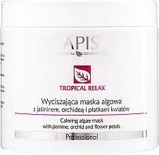 Perfumería y cosmética Mascarilla facial calmante con algas, jazmín y orquídea - APIS Professional Calming Algae Mask