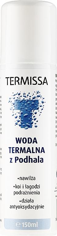 Agua termal hidratante con magnesio, calcio y sílice - Termissa Thermale Water