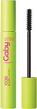 Perfumería y cosmética Máscara de pestañas para volumen y longitud en color negro intenso - Gabriella Salvete Gaby 100% Black Lashes Mascara