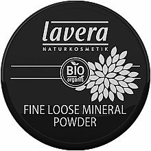 Perfumería y cosmética Polvo suelto de maquillaje mineral orgánico con borla - Lavera Fine Loose Mineral Powder