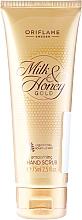 Perfumería y cosmética Exfoliante de manos con cáscara de almendra y extractos de leche y miel - Oriflame Milk & Honey Gold Hand Scrub