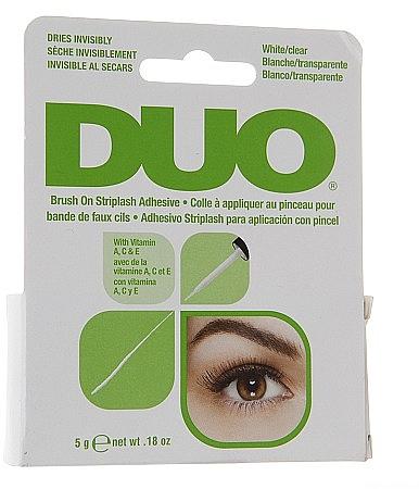 Pegamento para pestañas postizas con pincel - Duo Brush-On Lash Adhesive