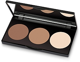 Perfumería y cosmética Paleta para contorno facial - Golden Rose Contour Powder Kit