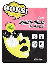 Perfumería y cosmética Mascarilla facial con extracto de uva y manzana - Berrisom Soda Bubble Mask PoreTox Fruit