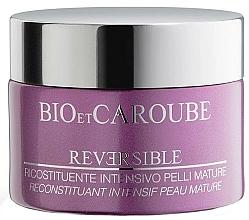 Perfumería y cosmética Crema facial natural antiedad con manteca de karité - Bio et Caroube Reversible Intensive Restorative Treatment For Mature Skin
