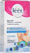 Perfumería y cosmética Bandas de cera depilatoria, pieles sensibles - Veet Easy-Gel