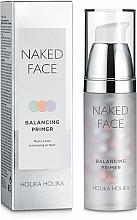 Perfumería y cosmética Prebase de maquillaje equilibrante con extracto de té verde, lavanda y rosa mosqueta - Holika Holika Naked Face Balancing Primer