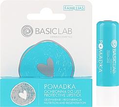 Perfumería y cosmética Bálsamo labial protector - BasicLab Dermocosmetics Famillias