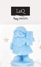 Perfumería y cosmética Jabón natural artesanal con mantecas de karité, cacao y mango, pequeño Papá Noel - LaQ Happy Soaps Natural Soap